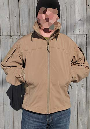 Куртка Tango (Tactical Special Operations Soft Shell Jacket), D3030-CB, coyote brown - Куртка Softshell М3030, цвет coyote brown